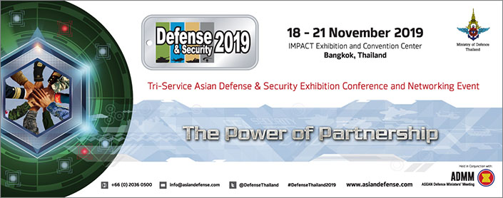 Media Partner: Defense & Security 2019