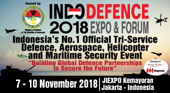 INDO DEFENCE 2018 TRI-SERVICES SHOW PREVIEW: MEDIA PARTNER, BONUS DISTRIBUTION AT JAKARTA